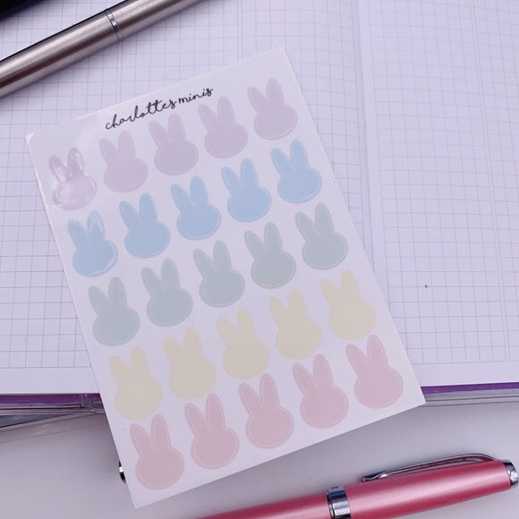 Clear Essentials - Pastel - Bunny