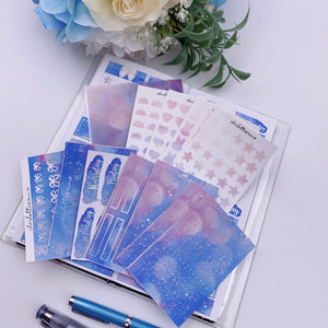 Foil Fridays - Blue Sunset Sky - Full Bundle