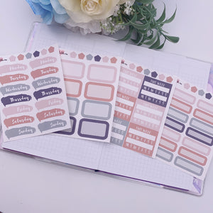 Vertical Planner- Essential Kits - Cozy Fall