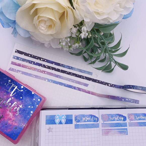 Planner Accessories -  Galaxy Bundle (5mm)