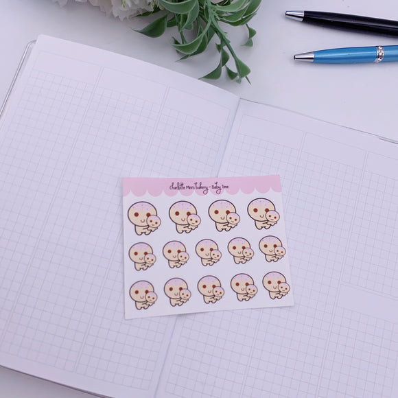 Planner Minis - Sugee - Baby Time