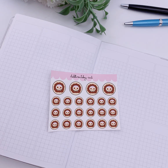 Planner Minis - Sugee - Donut