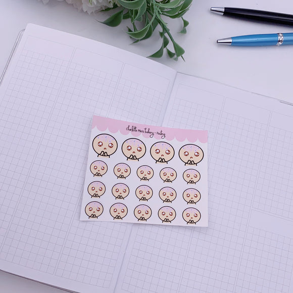 Planner Minis - Sugee - Pouting