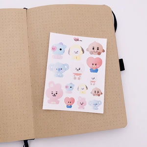 BT21 - Character Stickers