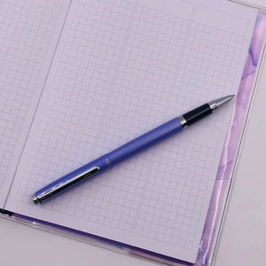 Pens - Stainless Steel Collection - Roller Pen - Lilac