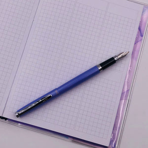 Pens - Stainless Steel Collection - Fountain Pen - Lilac