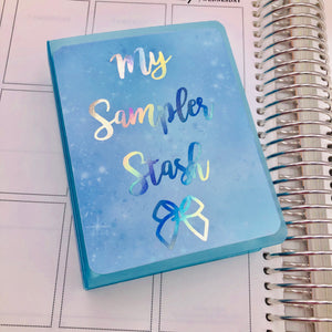 Blue Pastel Galaxy Photo Album (Sampler Size!)