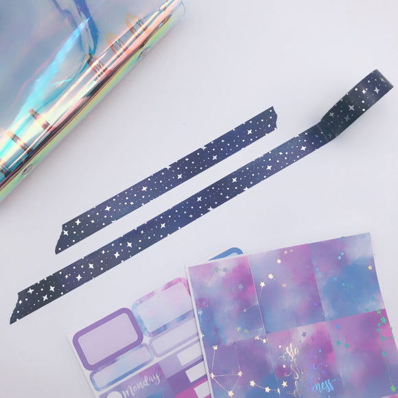 Planner Accessories - Exclusive Galaxy Washi