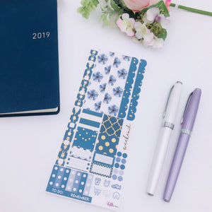Hobonichi Weeks - Weekly Kits - Navy and Gold