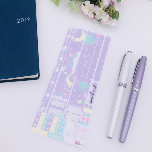 Hobonichi Weeks - Weekly Kits - Purple Space