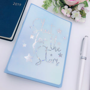 Pastel Blue Galaxy Photo Album