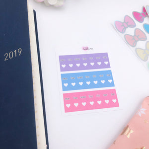 Hobonichi Weeks - Date Covers - Galaxy Tones