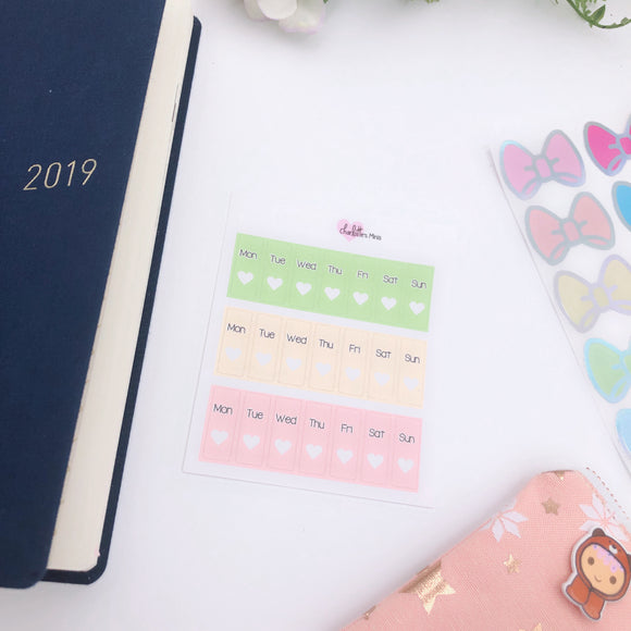 Hobonichi Weeks - Date Covers - Melon