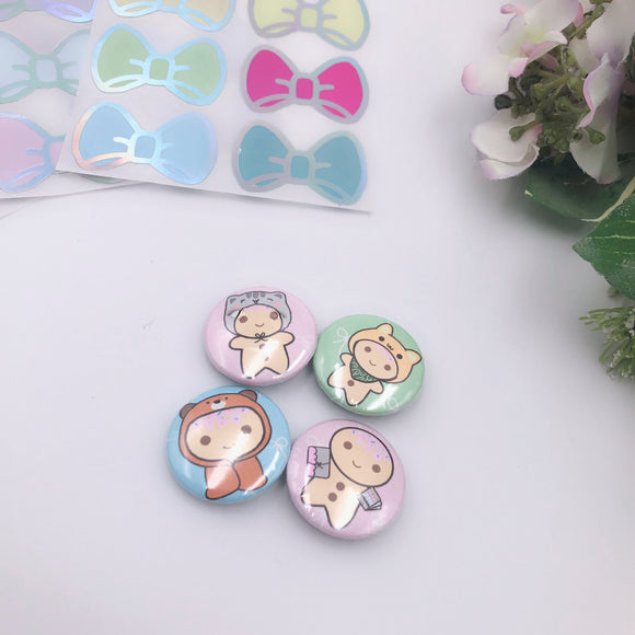 Button Pins - Favourite Sugees