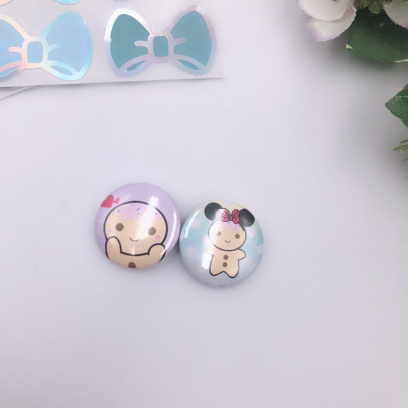 Button Pins - Kawaii Sugees
