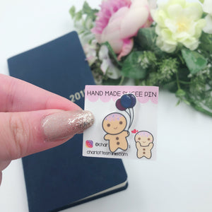 Planner Accessories - Resin Pins - Sugee Celebrates