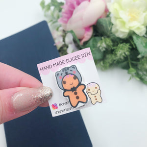 Planner Accessories - Resin Pins - Cathead Sugee
