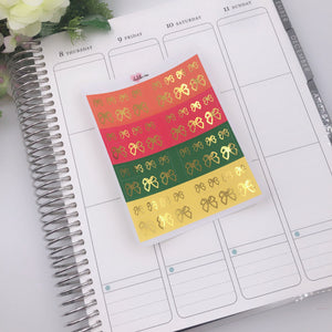 Planner Midis - Foiled Washi Strips Autumn (Gold foil)