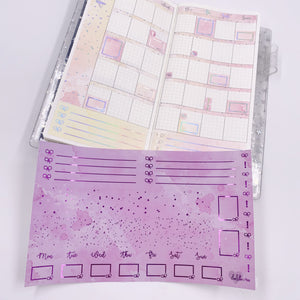 Hobonichi Weeks - Monthly Kits - Grape Juice (Purple Foiled)