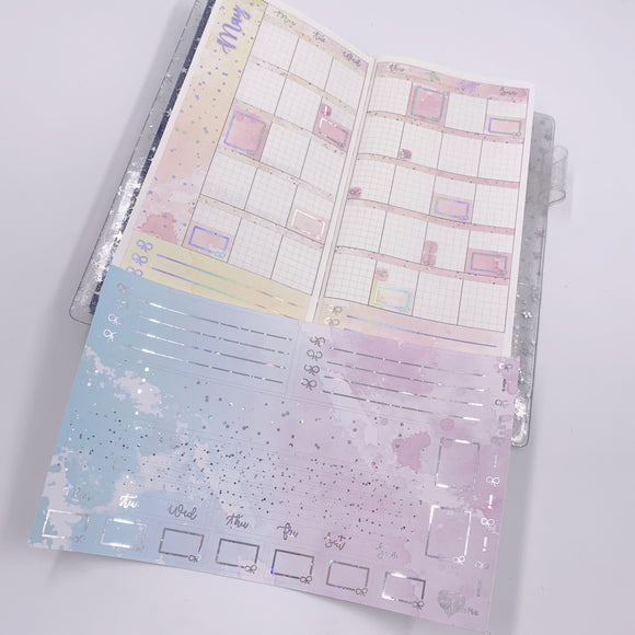 Hobonichi Weeks - Monthly Kits - Carnival (Holo Foiled)