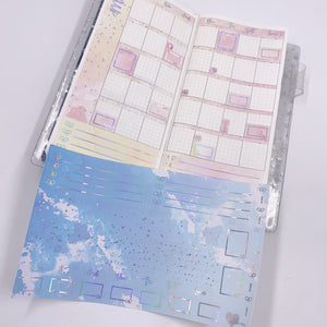 Hobonichi Weeks - Monthly Kits - Ocean (Holo Foiled)