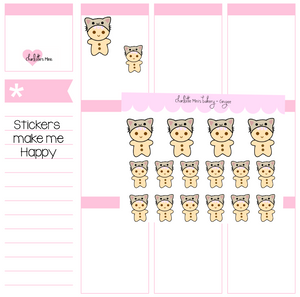Planner Minis - Sugee - Cat Hat
