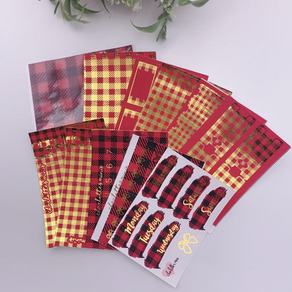 Foil Fridays - Buffalo Plaid - Full Bundle