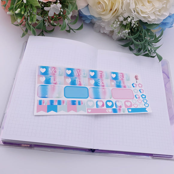 PP B6/Weeks Vertical Planner- Essential Kits - Popsicle