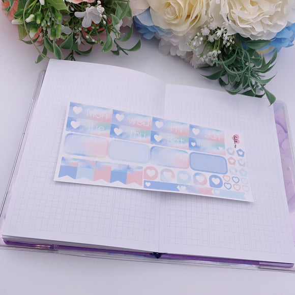 PP B6/Weeks Vertical Planner- Essential Kits - Vibin'