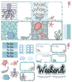 Planner Mini kits  - Under the Sea