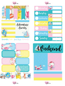 Planner Mini kits - Adventure Awaits