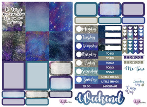 Planner Mini kits - Be Strong/ Galaxy
