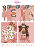 Planner Mini kits - Fall Nudes