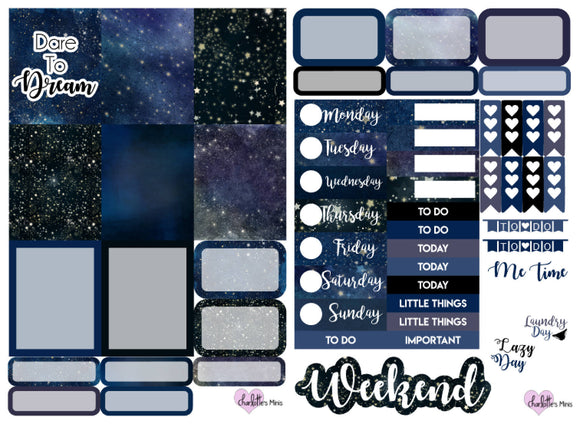Planner Mini kits - Dare To Dream