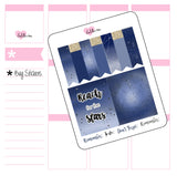 Planner Mini kits - Reach For The Stars