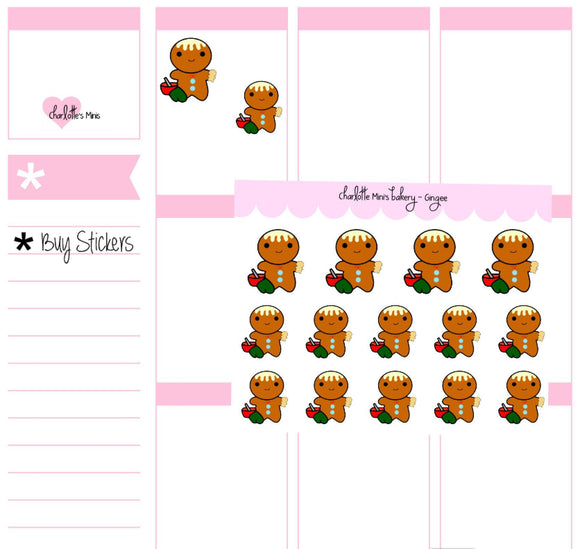 Planner Minis - Gingee - Baking Gingee