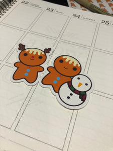 Planner Die Cuts - Gingee - Winter Gingee