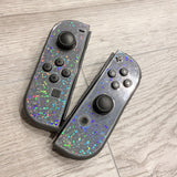 Nintendo Switch - Glitter Overlay - Holographic Dots