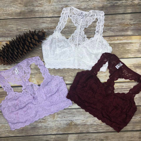 Traditional Lace Bralettes