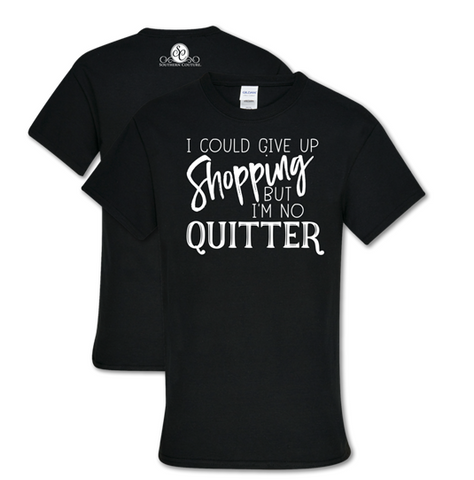 Give Up Shopping T-Shirt