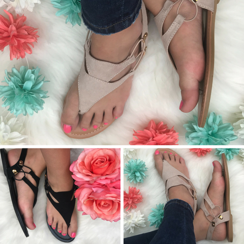 Keep It Simple Sandal