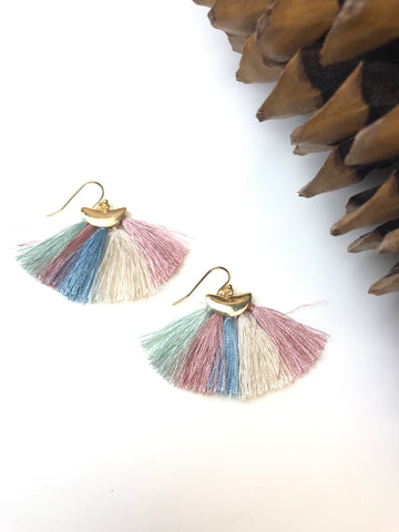 Dorothy Tassel Earrings