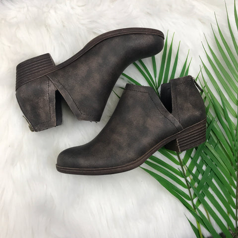 Walk the Line Flat Booties