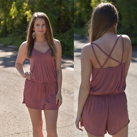 Strap It Down Romper