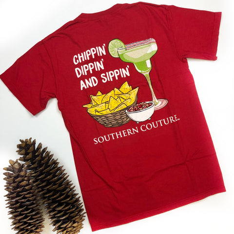 Chippin Dippin Sippin Tshirt