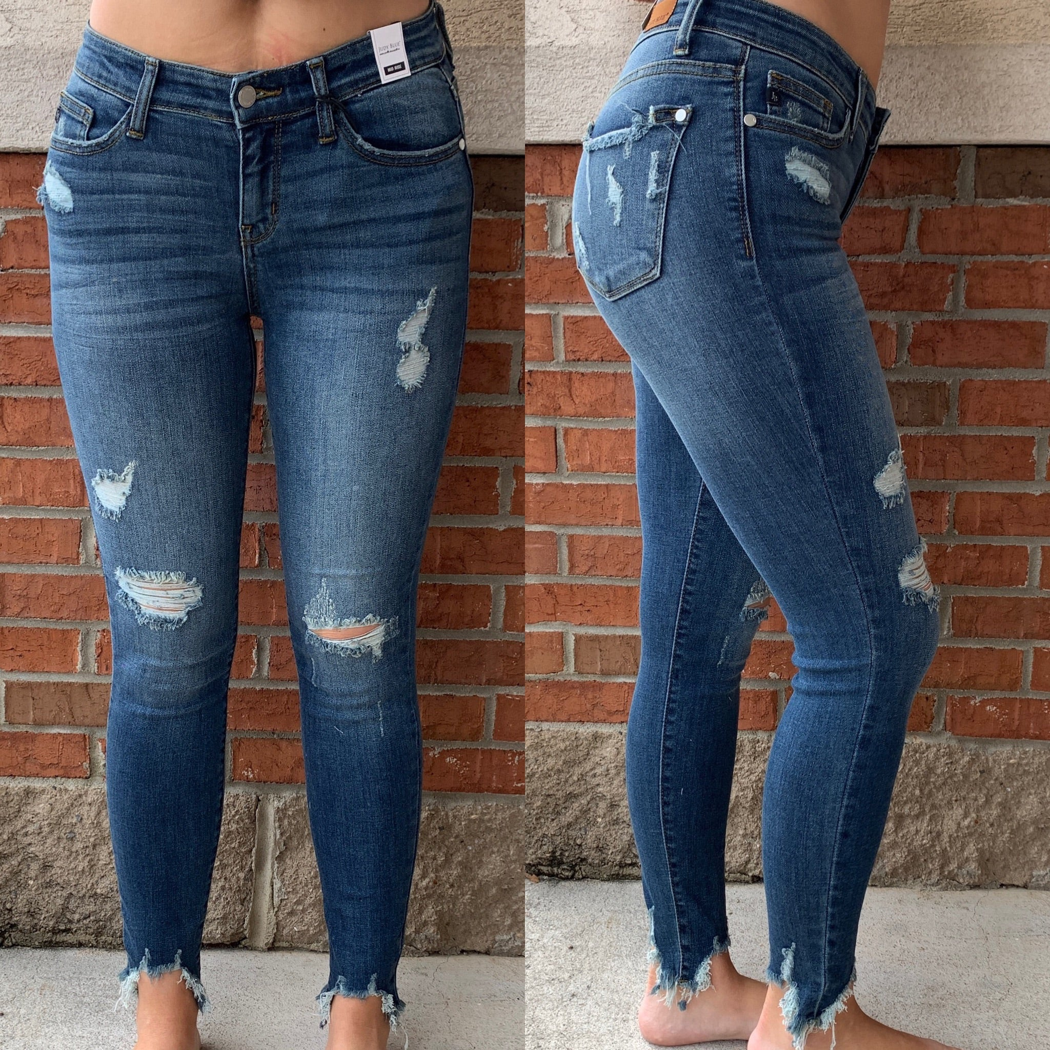 Cant Fray Me Skinnies-FINAL SALE