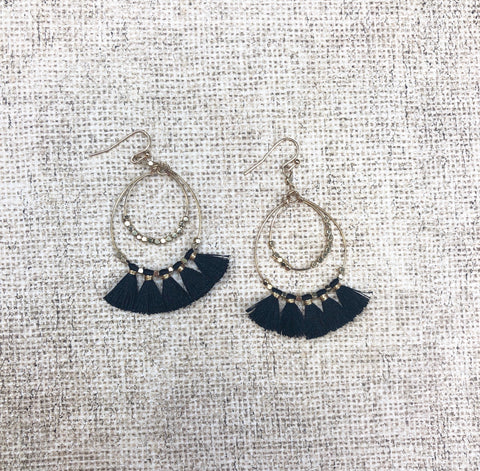 Dancing Tassel Earrings