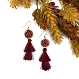 Shine Bright Tassel Earrings