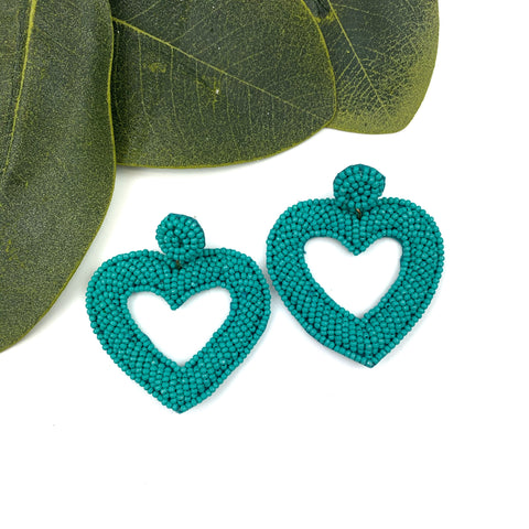 Lock On My Heart Earrings