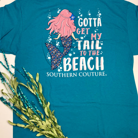 My Tail To The Beach T-Shirt